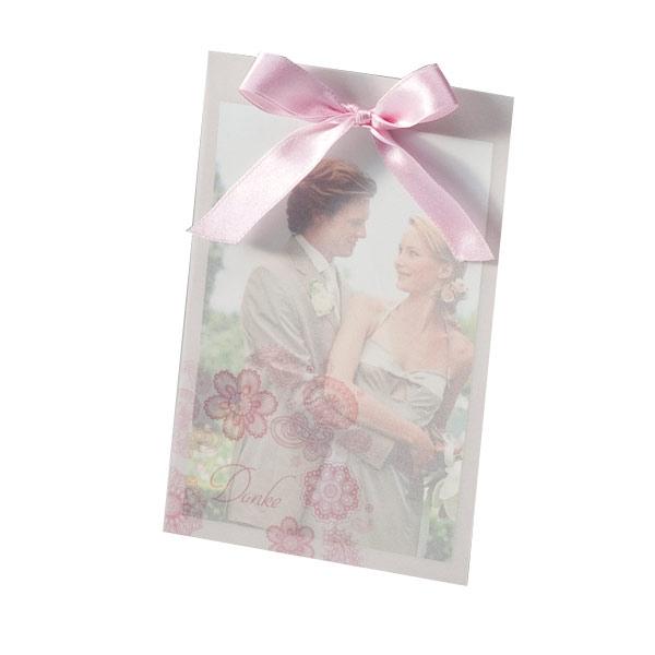 Hochzeit danksagung blumen hochzeit dankeskarte mit herz