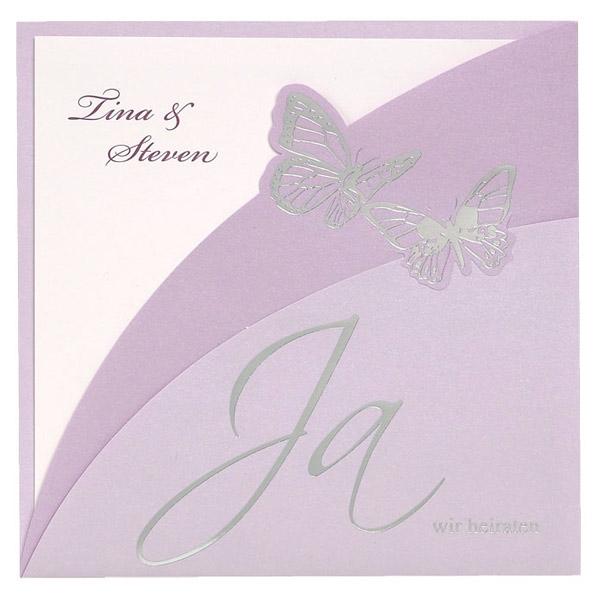 Hochzeitseinladung Julia - jetzt auf Abenteuer Hochzeit sichern ...