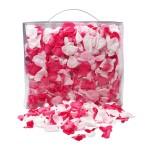 Echte Rosenblätter in Pink